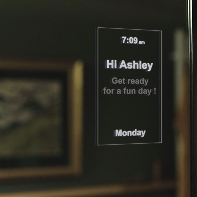 Product - MirroCool: Smart Mirror and Personal Assistant